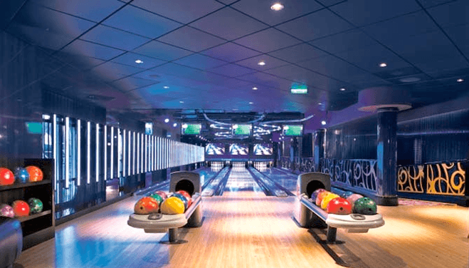 Private Club Bowling Alley, Home Bowling Alley