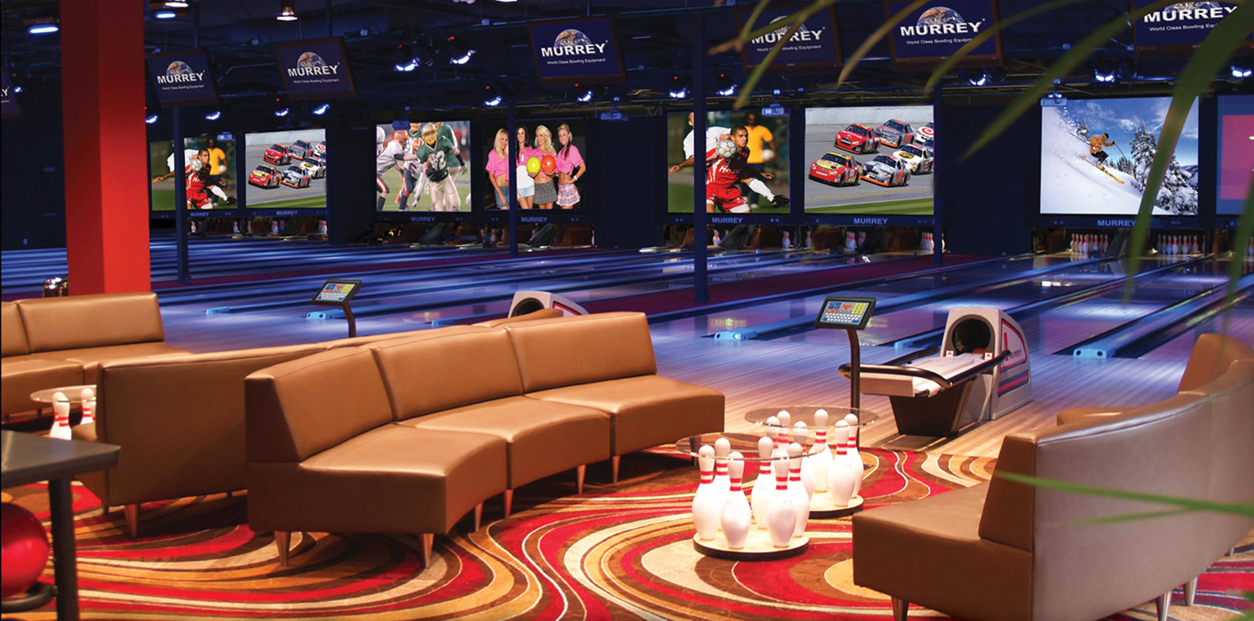 Start a bowling alley business, bowling alley construction