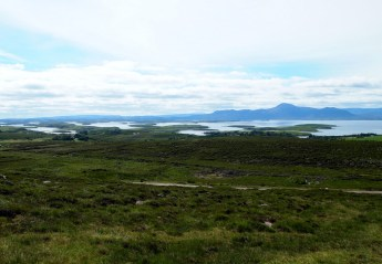 View across clew bay
