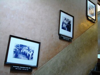 Pictures framed on the walls