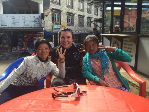 Marathon Everest women runners