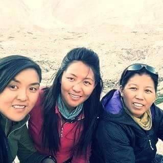 Nepali women runners climbers