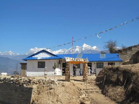 Nepal earthquake 2015 goli school