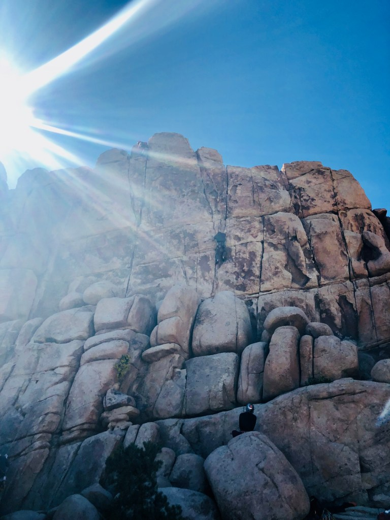 Joshua Tree - climbing safety tips