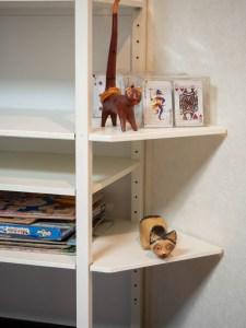 side-table & shelf