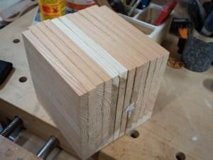 bandsaw box cube