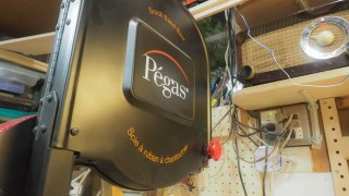 Pegas Scroll Band Saw, unboxing
