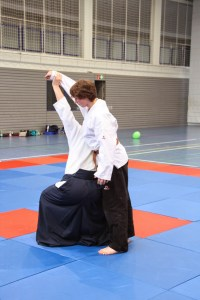 Training auf der Matte