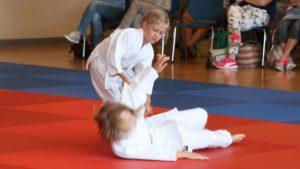 Gelungener Judo Wurf