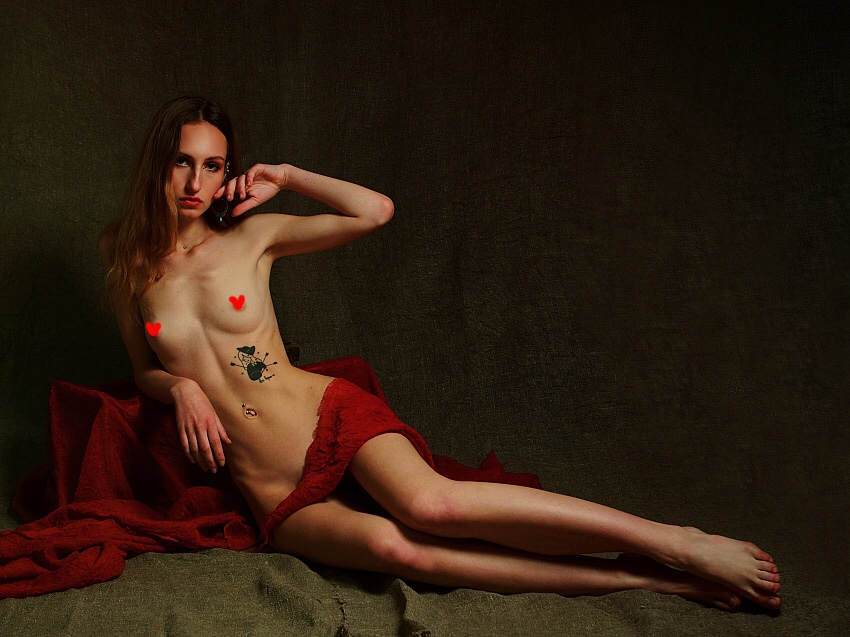 'No Title' Veronika by Kit Anghell