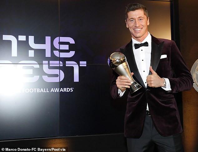 Robert Lewandowski defeats Lionel Messi and Cristiano Ronaldo to win FIFA?s best player award