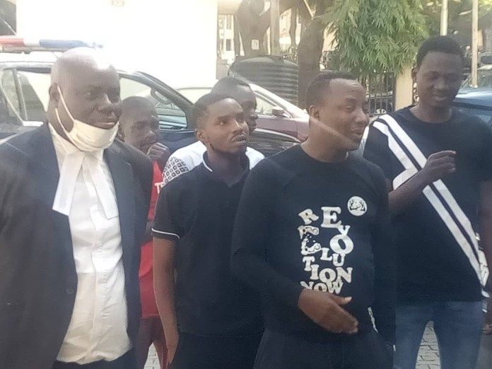 Court remands Sowore, four others in Kuje prison