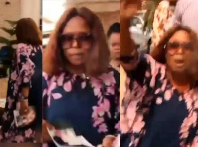 Nigerian woman disrupts her husband