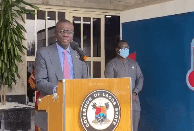 Any malaria-like symptoms should be considered a COVID19 virus infection ? Governor Sanwo-Olu tells Lagos residents (video)
