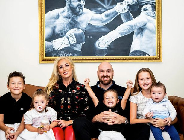 Tyson Fury reveals his wife Paris is pregnant with their sixth child
