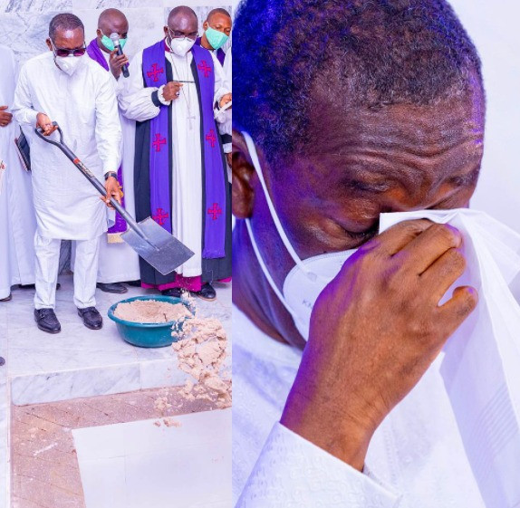 Photos from the funeral of the father of the Delta state governor, Ifeanyi Okowa