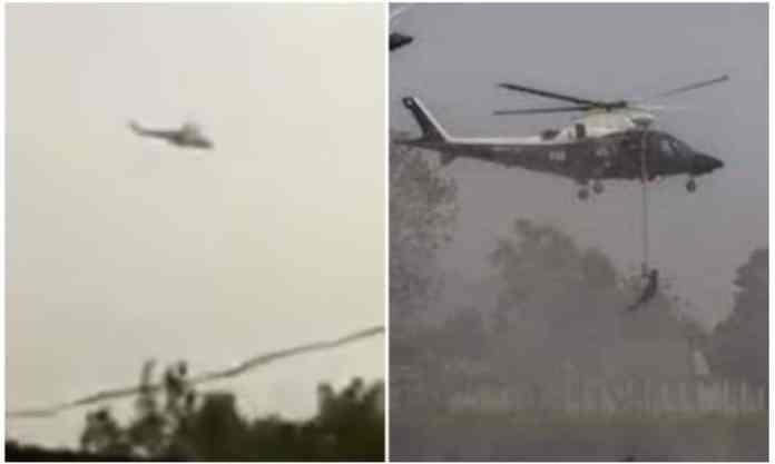 Air bombardment in Orlu