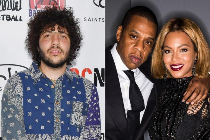"?My life flashed before my eyes"" - Benny Blanco recalls the awkward moment he accidentally kissed Beyonce in front of Jay-Z"