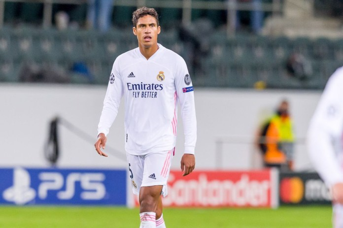 Big blow for Real Madrid as Raphael Varane tests positive for coronavirus hours before Champions League quarter-final clash with Liverpool?