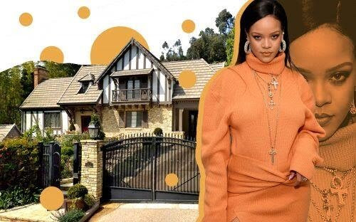 Rihanna buys $10m Beverly Hills mansion just next door to $13m home she bought 3 months ago (Photos)
