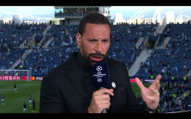 Rio Ferdinand was not impressed with Pep Guardiola's tactics
