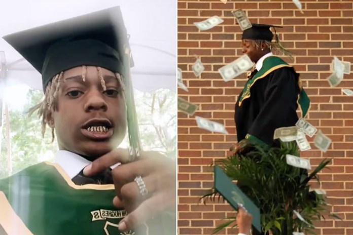 Rapper, Metro Marrs arrested and detained after spraying ,000 cash at his own high school graduation ceremony
