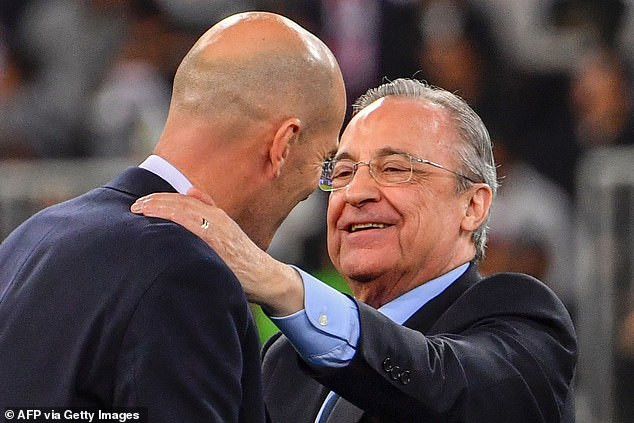 Zinedine Zidane resigns as manager of Real Madrid with immediate effect after missing out on LaLiga title to rivals Atletico Madrid