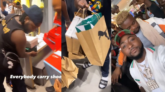 davido shoes crew