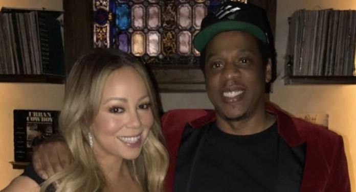 Mariah Carey leaves Jay-Z