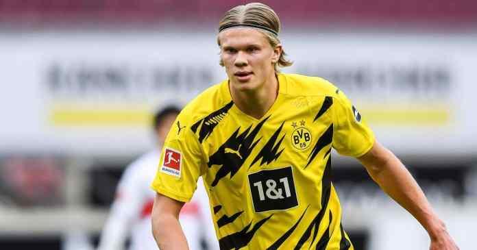 Erling Haaland Borussia Dortmund striker linked with Premier League move
