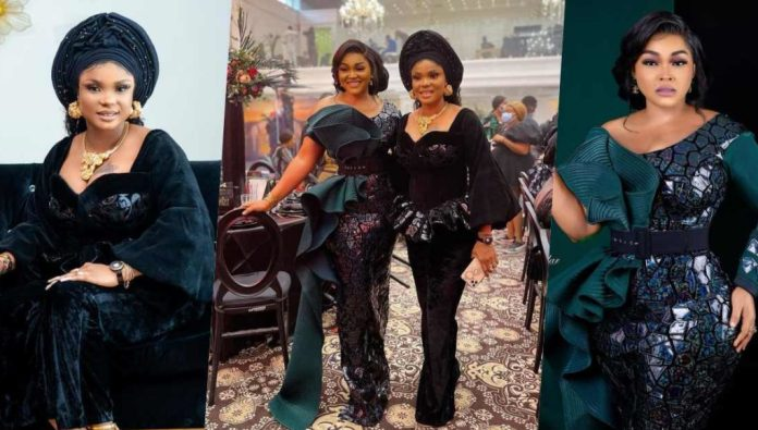Fans react as actresses, Iyabo Ojo & Mercy Aigbe settle long time beef
