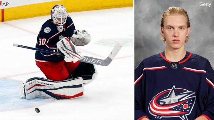 Hockey star Matiss Kivlenieks, 24, dead after being