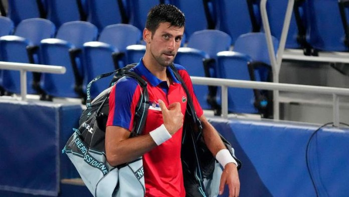 Tokyo Olympics: Novak Djokovic withdraws from mixed doubles-bronze match; leaves Olympics empty-handed