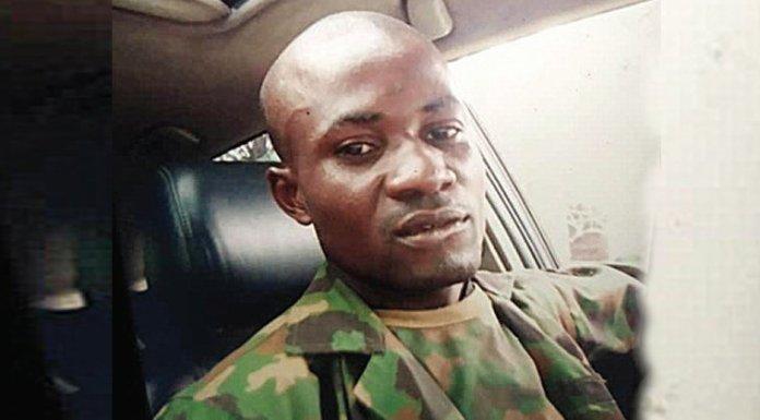 ESN commander, Emeoyiri Benjamin