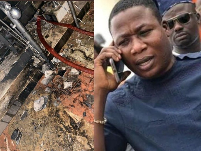Security Agency Behind Sunday Igboho's House Attack Revealed | Nigeria News