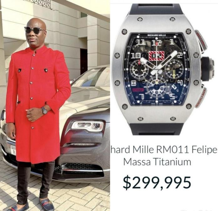Mompha shares excitement as his Richard Mille watch increases in value