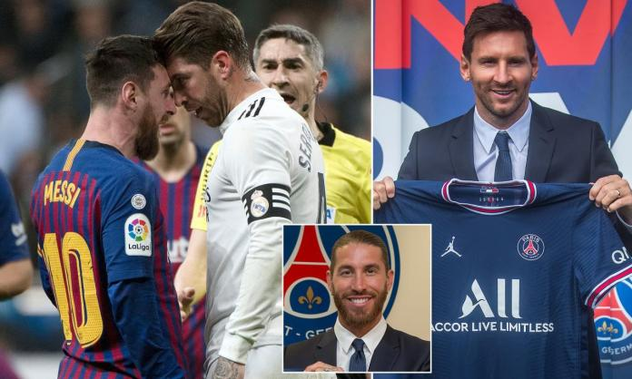 Sergio Ramos invites PSG signing Lionel Messi and family to stay at his new Paris home