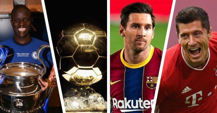 Messi Lewandowski Kante