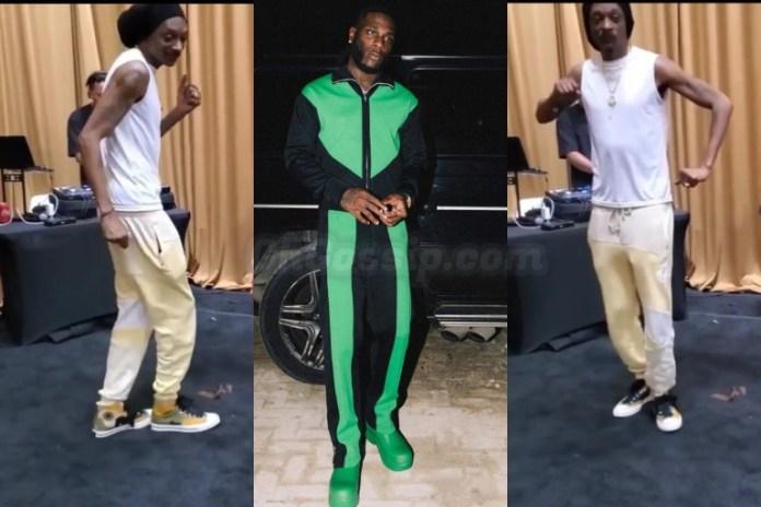 Snoop Dogg dance to Burna Boys Ye
