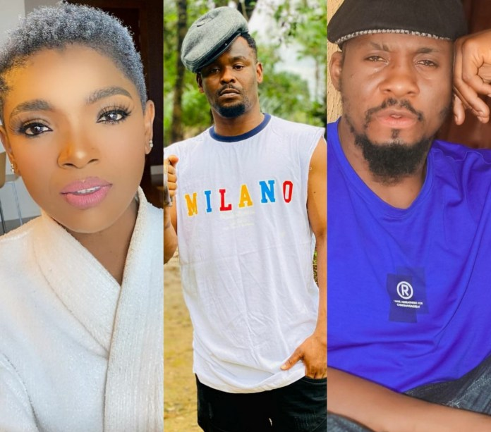 Actors Zubby Michael and Junior Pope knock Annie Idibia for bringing her marital crises to social media