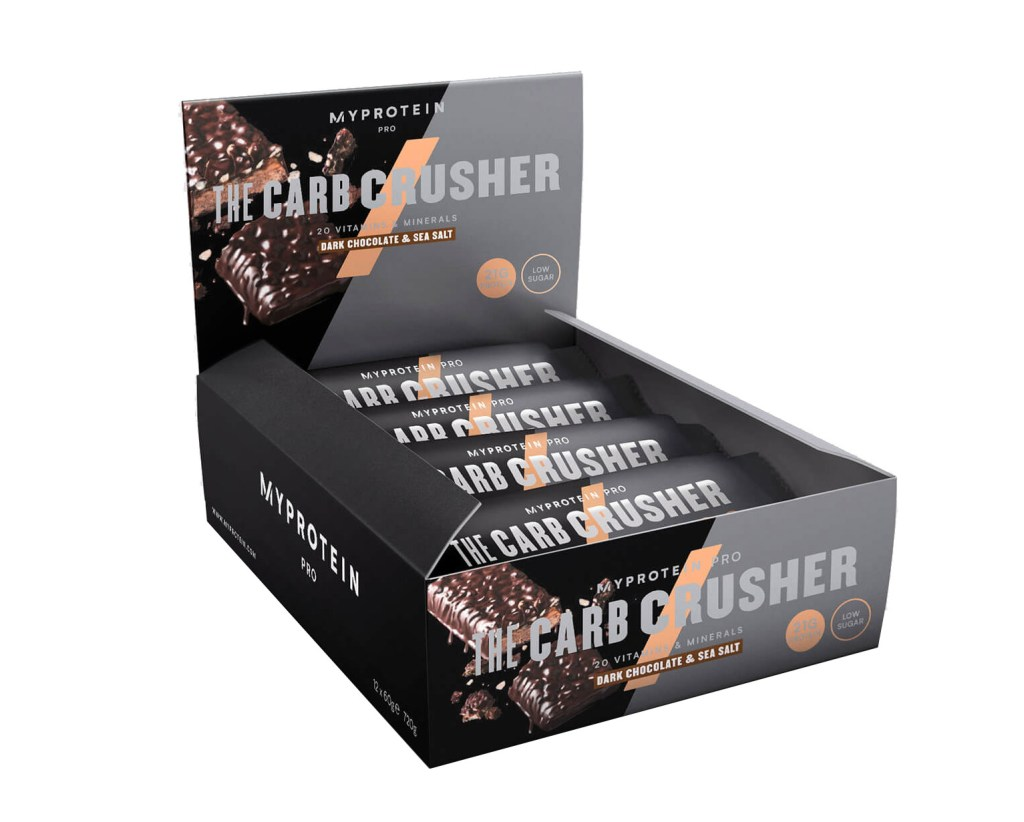 Carb Crusher is one of myProteins latest protein bars
