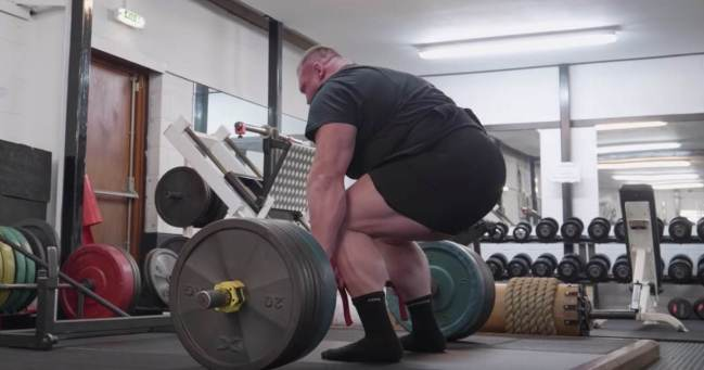 Benedikt Magnusson Deadlift