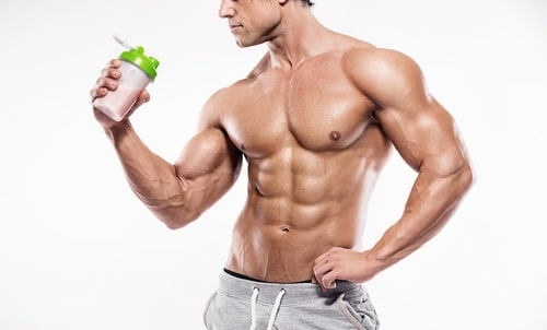 bodybuilder on diet