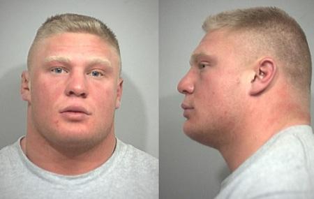brock lesnar steroid arrest