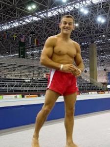 gymnast small legs