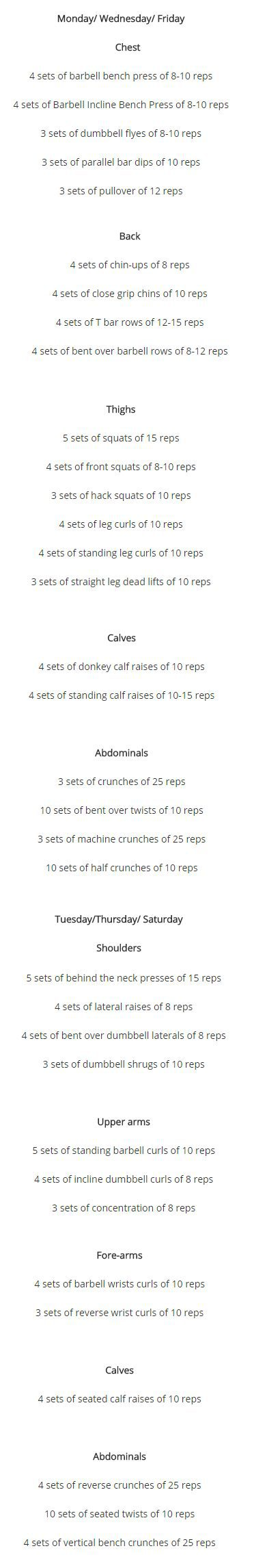 van damme workout routine