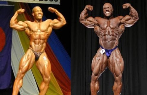 phil heath natural vs steroids