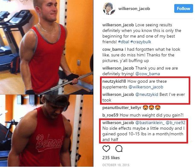 crazybulk instagram review
