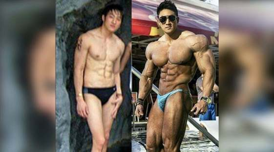 chul soon hgh before after