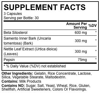 trenorol ingredients
